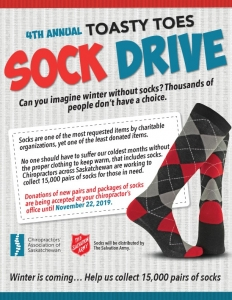 Toasty Toes Sock Drive